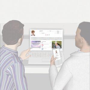 Homenaje Virtual que se publica automáticamente en el sitio web de su empresa fúnebre
